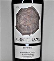 a 750ml bottle of 2019 Limerick Lane Zinfandel from the Russian River Valley of Sonoma County California