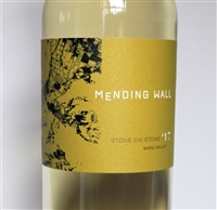 750ml bottle of 2017 Mending Wall Stone on Stone white wine from Napa Valley California