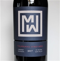750ml bottle of 2017 Mending Wall Tournahu Cabernet Sauvignon from the of Napa Valley California