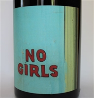 750ml bottle of 2015 No Girls Syrah from the La Paciencia Vineyard in Walla Walla Valley of Washington State