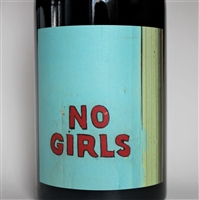 750ml bottle of 2016 No Girls Syrah from the La Paciencia Vineyard in Walla Walla Valley of Washington State