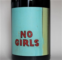 750ml bottle of 2016 No Girls Tempranillo from the La Paciencia Vineyard in Walla Walla Valley of Washington State