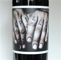 750ml bottle of 2017 Orin Swift Papillon, a Bordeaux style red blend from Napa Valley California