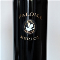 750ml bottle of 2016 Paloma Vineyards Merlot from the Spring Mountain District of Napa Valley California