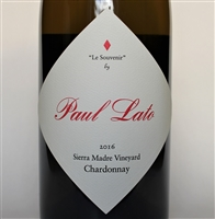 750ml bottle of 2016 Paul Lato Le Souvenir Chardonnay from the Sierra Madre Vineyard in the Santa Maria Valley AVA of Santa Barbara County California