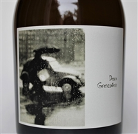 750 ml bottle of Sine Qua Non 2016 Deux Grenouilles white wine from Ventura California with a blend of Roussanne, Chardonnay, Petite Manseng, Viognier and Muscat.
