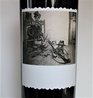 1.5L bottle of 2017 Sine Qua Non Grenache The Gorgeous Victim red wine from Ventura California