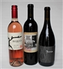 Three 750ml bottles of wine for $98 on the Signature Tasting Trio including Bedrock Ode to Lulu Rosé Son of a Butcher red blend by Y. Rousseau and Torrin The Maven Grenache from Paso Robles CA.