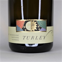 750ml bottle of 2017 Turley The White Coat Roussanne Grenache Blanc blend from California