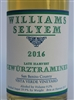 375 ml bottle of 2016 Williams Selyem Late Harvest Gewurztraminer from the Vista Verde Vineyard in San Benito County California