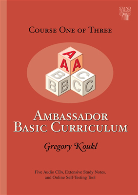 Ambassador Basic Curriculum: Course One