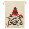 Merry Christmas Santa Sack printed with Tree