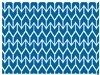 Ikat Placemats available in aqua blue bahama blue midnight navy rose pink