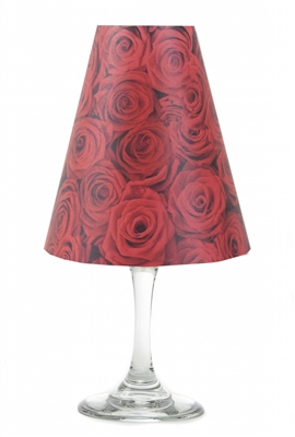 Red Rose White Wine Shades make any party elegant.
