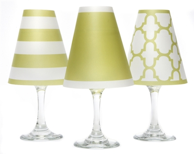 Nantucket White Wine Glass Shades by di Potter