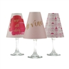 Rosé All Day White Wine Glass Shades by di Potter