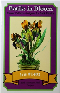 Batiks in Bloom ~ Iris #1403
