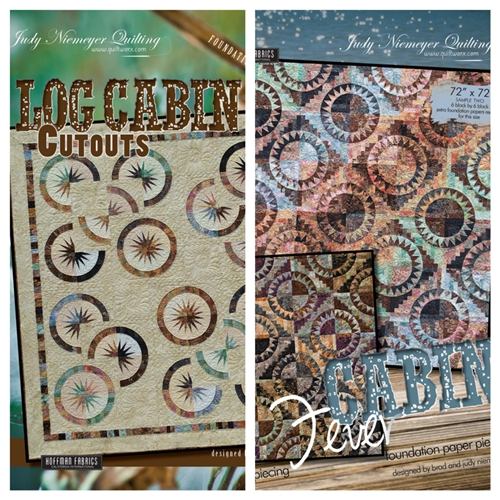 Cabin Fever & Log Cabin Cutout Package
