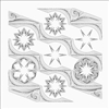 Candy Coated Snowflake Quilting Pattern