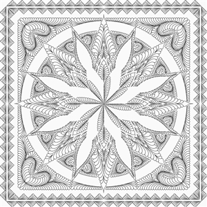 Silver Shores Quilting Pattern