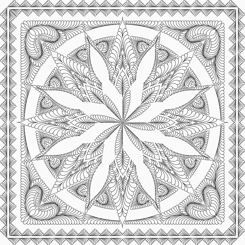 Silver Shores Quilting Design