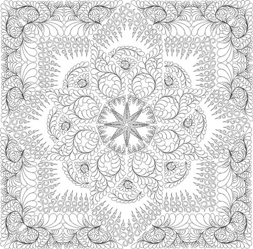 Prairie Star Quilting Pattern