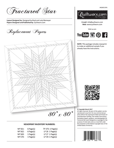 Fractured Star Replacement Papers