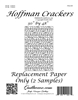 Hoffman Crackers Replacement Papers