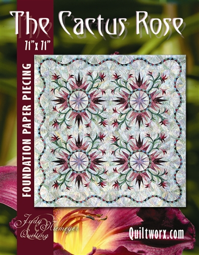 Cactus Rose Basic Pattern - DISCONTINUED
