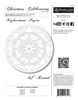 Christmas Celebration Tree Skirt Replacement Papers -