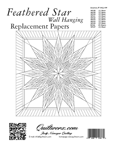 Feathered Star Replacement Papers