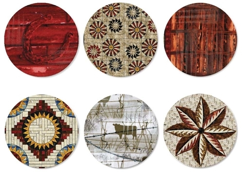 Quiltworx Collection of 6 Bookmarks - Set #2