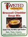 Broccoli Cheddar Soup Mix by Twisted Pepper