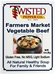 Farmers Market Vegetable Beef Soup Mix by Twisted Pepper