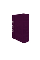 Chitas With Magnetic Cover - Dark Purple
