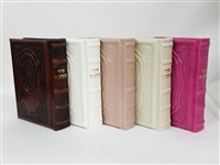 Leather Siddur Tehillat Hashem- Hadar Design