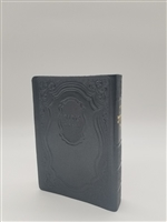 Siddur Tehillat Hashem with Tehillim Antique Leather -Grey