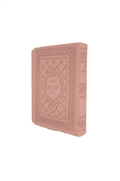 Siddur Tehillat Hashem with Tehillim Soft Cover - Light Pink