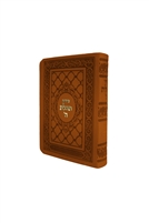 Siddur Tehillat Hashem with Tehillim Soft Cover - Light Brown