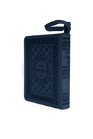 Zipper Siddur Tehillat Hashem with Tehillim - Metallic Blue