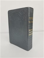 Leather Siddur Tehilat Hashem Soft Cover H/E