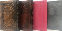 Leather Siddur Tehillat Hashem Annotated - Soft Covered