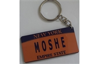 License Plate Keychains
