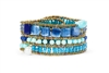 Ziio's Tabiz Bracelet in Kyanite & Zircon Gemstones