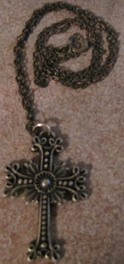 Armenian Silver Cross with Chain