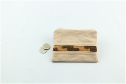 Carpet Coin Purse - Gray