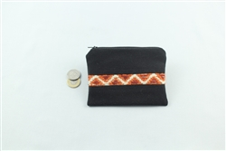 Carpet Coin Purse - Black