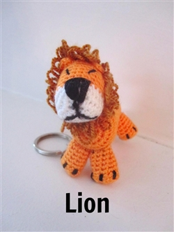 Animal Keychain - Lion