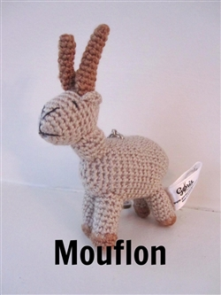Animal Keychain - Mouflon