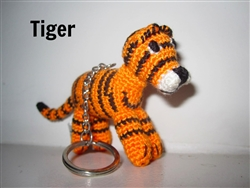 Animal Keychain - Tiger